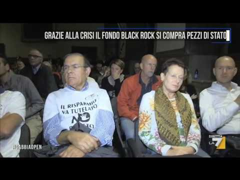 Grazie alla crisi il fondo Black Rock si compra pezzi di Stato