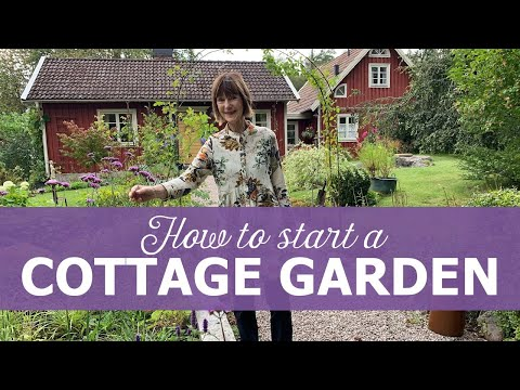 How To Start A Cottage Garden - Ninnies Tips