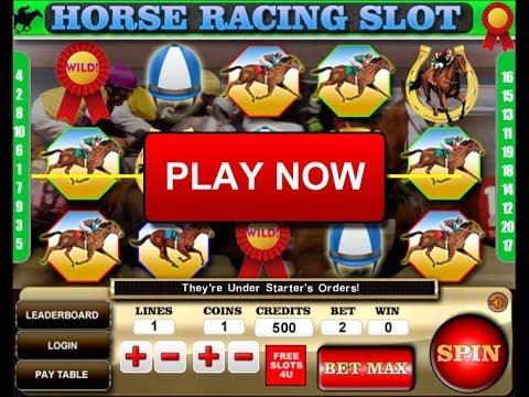 Horse Racing Slot Machine At FreeSlots4U.com