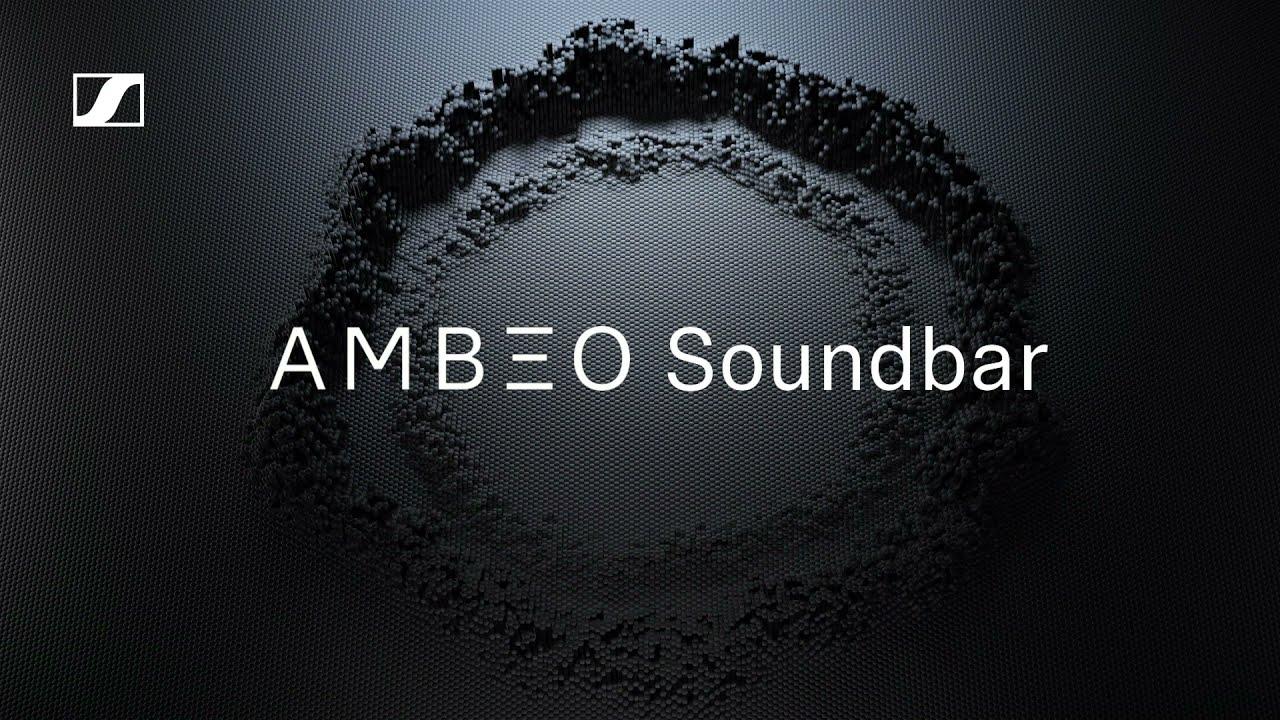 The AMBEO Soundbar in detail   Sennheiser