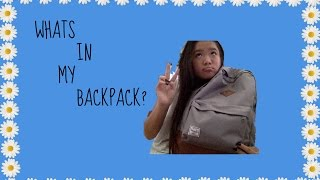 What's In My Backpack?! 2014-15 Thumbnail
