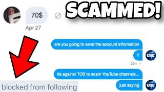 This Fortnite YouTuber SCAMMED A Little Kid...