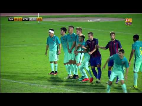 [HIGHLIGHTS] FUTBOL (2AB): Gavà - FC Barcelona B (1-0)