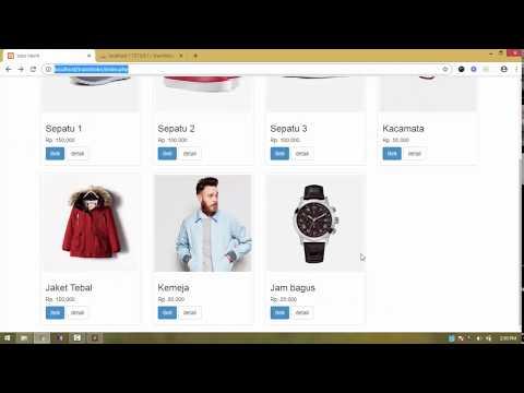Tutorial Membuat Toko Online PHP Dan MySQLI - 28 Pencarian Produk
