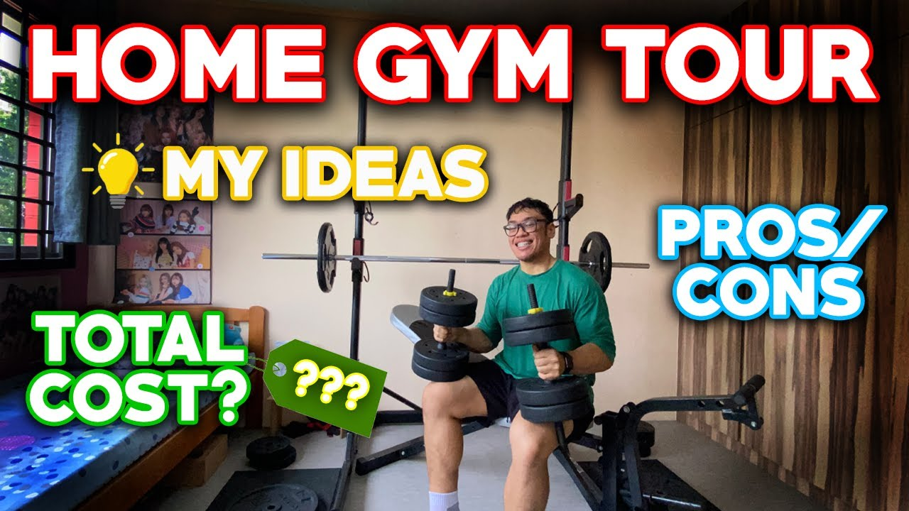 Download HOME GYM TOUR in SINGAPORE | TOTAL COST, PROS/CONS, IDEAS & MY SUGGESTIONS
