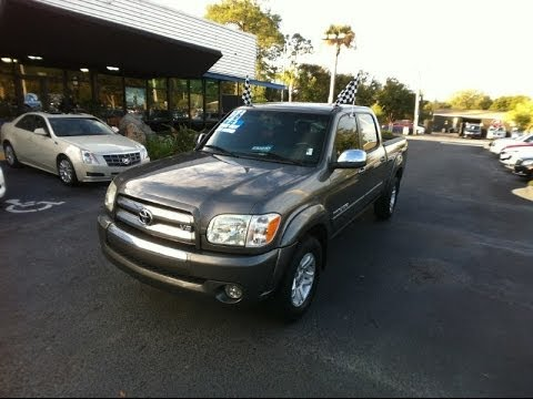 Autoline Preowned 2006 Toyota Tundra SR5 For Sale Used Walk Around Review  Test Drive Jacksonville