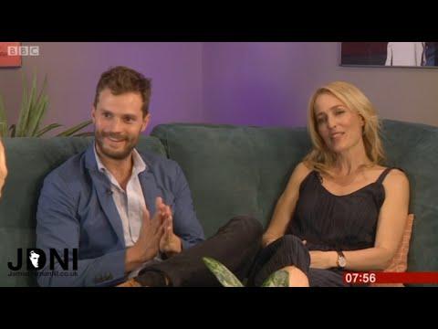 Jamie Dornan & Gillian Anderson - (UK Breakfast TV) 27.09.16