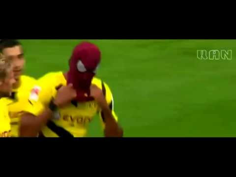 Aubameyang: Spider-Man
