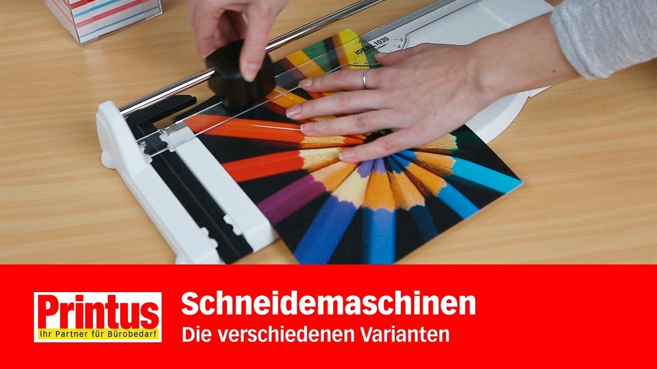Papierschneidemaschine economy A4 Foto Schneider Papierschneidegerät