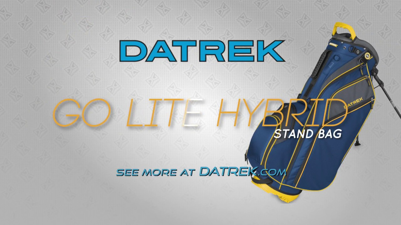ae968222b430 Datrek Go Lite Hybrid Stand Bag - YouTube