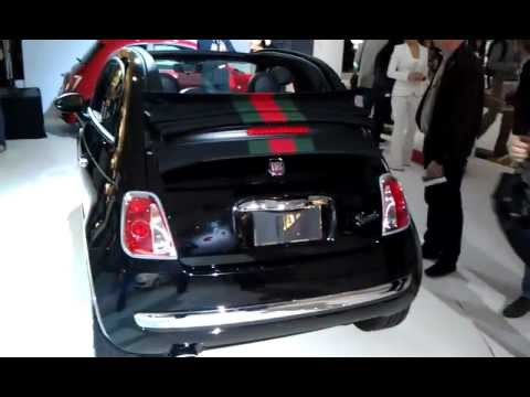 Fiat 500 Gucci Edition And Accessories At 2017 La Auto Show