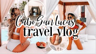 CABO SAN LUCAS TRAVEL VLOG: finding a good gym, first time at the beach, & exploring
