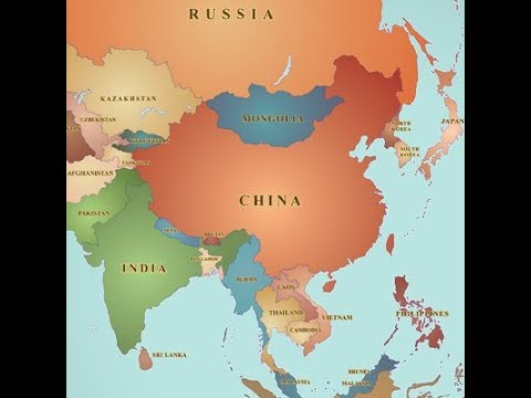 ASIA continent   geography chapter NCERT based   YouTube ASIA continent   geography chapter NCERT based