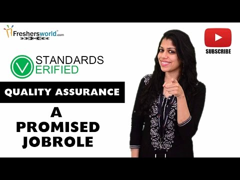 Job Roles For QUALITY ASSURANCE – Engineer,Testing,Standards