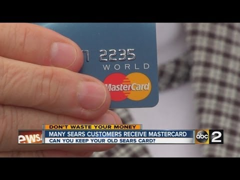 Is Sears phasing out their store credit cards?