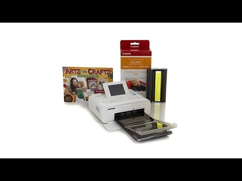 Canon Selphy CP1200 Wireless Compact Photo Printer
