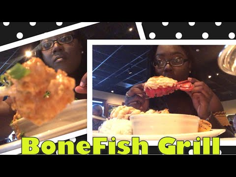 My First Vlog | Trying BoneFish Grill For The First Time
