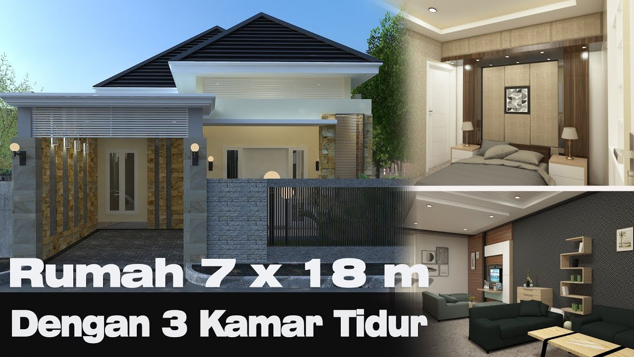 Rumah 7 X 18 M Dengan Interior Luas Youtube