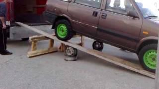 Nissan Prairie OFF ROAD