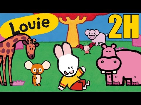 2 hours of Louie - Louie draw me mammals | Compilation #4