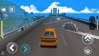 Impossible Track Speed Cars Bump Driving Games #2 | Android Gameplay | Friction Games