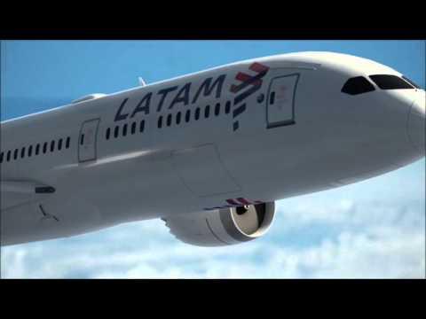 Adiós LAN y TAM: nueva imagen y librea LATAM Airlines