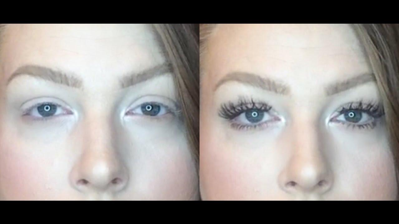Detailed False Eyelash Tutorial For Downturned Droopy Eyes
