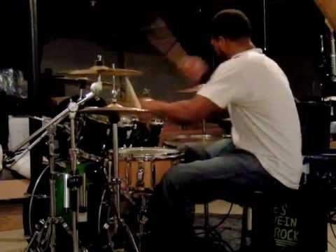 Chuck C. Tpain featuring Chris Brown Freeze Live Drum Cover