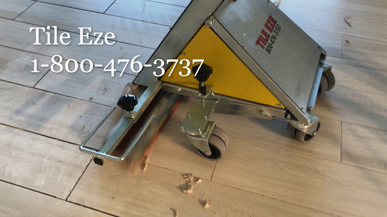 Tile Eze Tz 7500 Super Grouter Commercial Grout Spreader Youtube