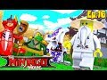 Minecraft LEGO NINJAGO - ROPO & COLE HAVE CHANGED THE COURSE OF HISTORY?!!