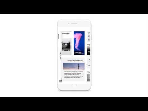 The Horizontal Scroll Interface - Muzli - Design Inspiration