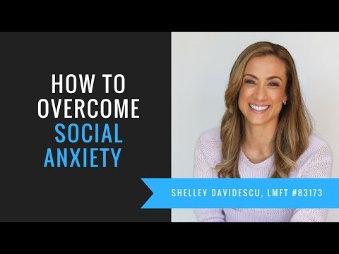 *What is social anxiety* - {Anxiety Therapy} - Shelley Davidescu, LMFT