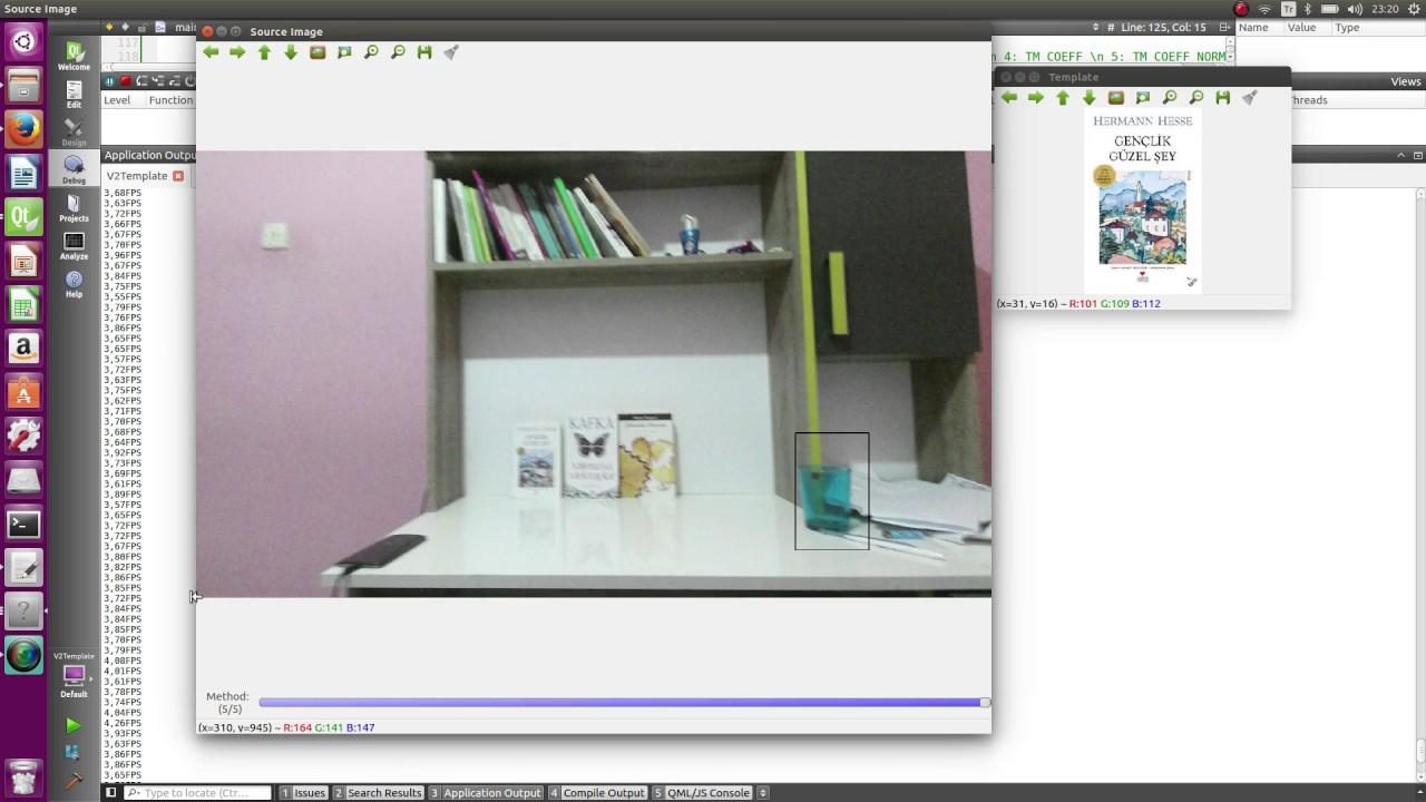 Template Matching (KinectV2+OpenCV 3.2+Libfreenect2) on Ubuntu ...