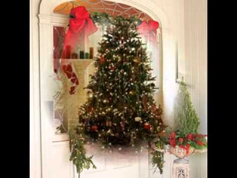 Easy diy front porch christmas decorating ideas youtube for Easy front porch christmas decorations