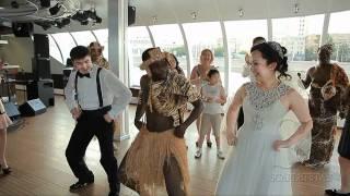 Свадьба на яхте флотилии «Рэдиссон Ройал»
