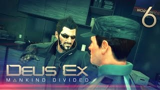 Визит в банк ● Deus Ex: Mankind Divided #6 [PC] 1080p60 Max Settings