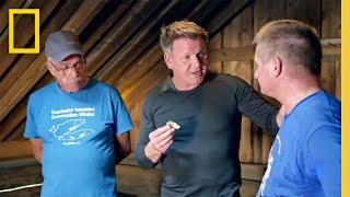 Gordon Cooks Whitefish   Gordon Ramsay: Uncharted