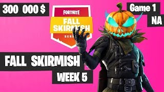 Fortnite Fall Skirmish Week 5 Game 1 NA Highlights (Group 2) - Royale Flush