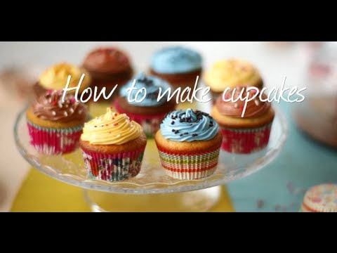How To Make Cupcakes Video - Two Recipes In One