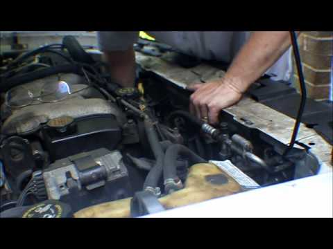 How To Change A 2000 2003 Malibu Radiator Fan Assembly