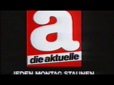 A die Aktuelle - Deutsche Zeitschrift Werbung - [German magazine commercial] - [VHS]