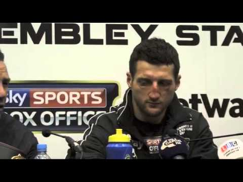 Carl Froch Post Fight Press Conference - Froch v Groves 2