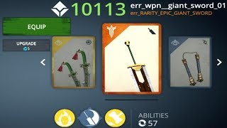 Shadow Fight 3 Hack EPIC Giant Sword