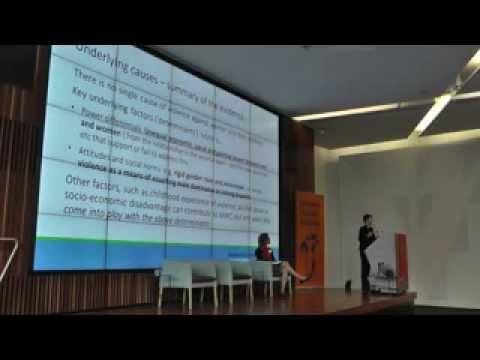 Lara Fergus presentation (Part 1 of 2) at PVAW forum, Melbourne, 26 August 2014