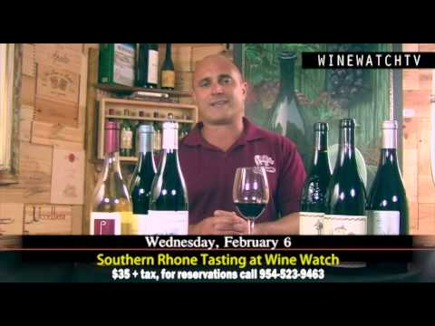 Southern Rhone Tasting at Wine Watch - click image for video