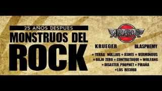 Malignant Tour - Strike Back - Monstruos del Rock 2014