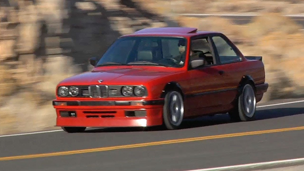 The Tire Punishing 400hp Turbo Bmw E30 Tuned