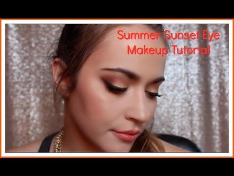Summer Sunset Makeup Tutorial