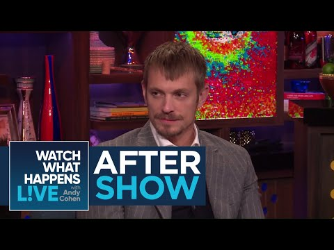 After : Does Joel Kinnaman Regret His Will Smith Tattoo?  WWHL