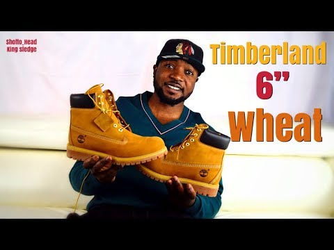 UnBoxing and On feet; Timberland 6-INCH PREMIUM WATERPROOF BOOTS ( wheat Nubuck)
